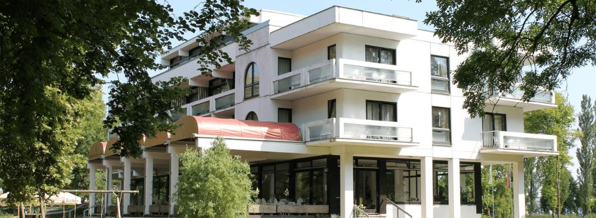 Außenansicht Reichel's Parkhotel Bad Windsheim