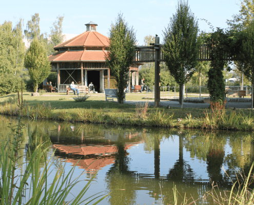 Kurpark Reichel's Parkhotel Reichels Bad Windsheim