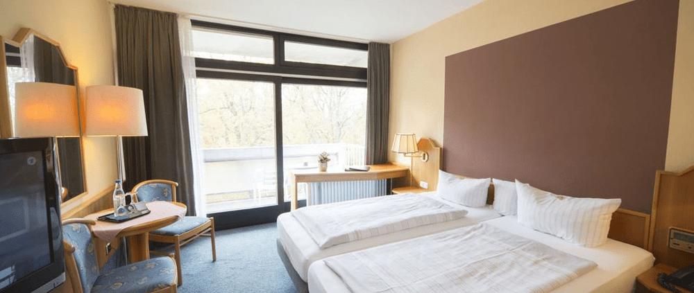 Doppelzimmer Komfort Zimmer Reichel's Parkhotel Reichels Bad Windsheim