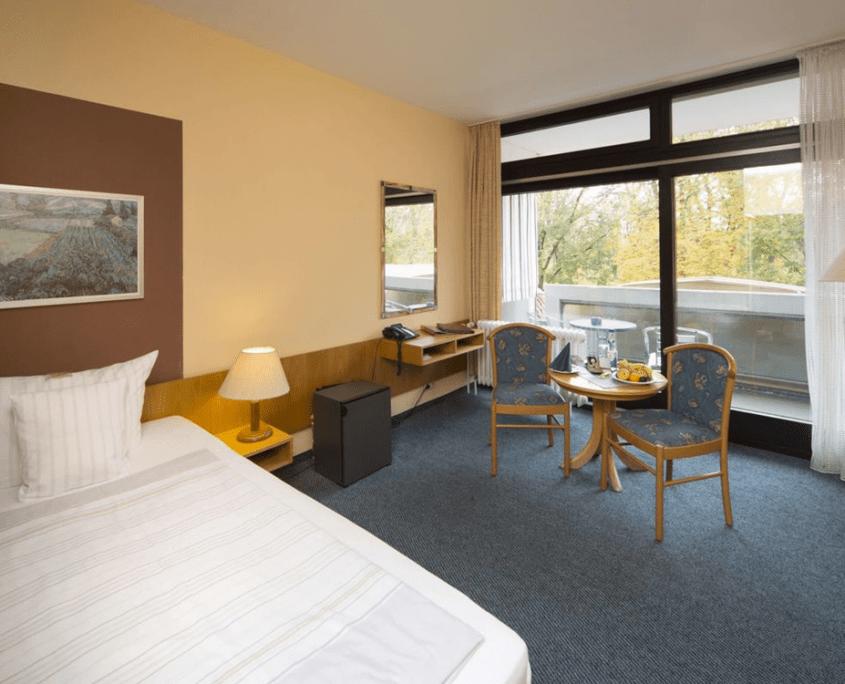 Einzelzimmer Komfort Zimmer Reichel's Parkhotel Reichels Bad Windsheim