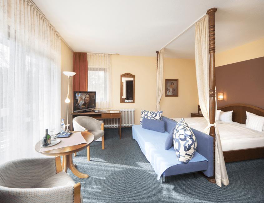 Doppelzimmer Deluxe Zimmer Reichel's Parkhotel Reichels Bad Windsheim