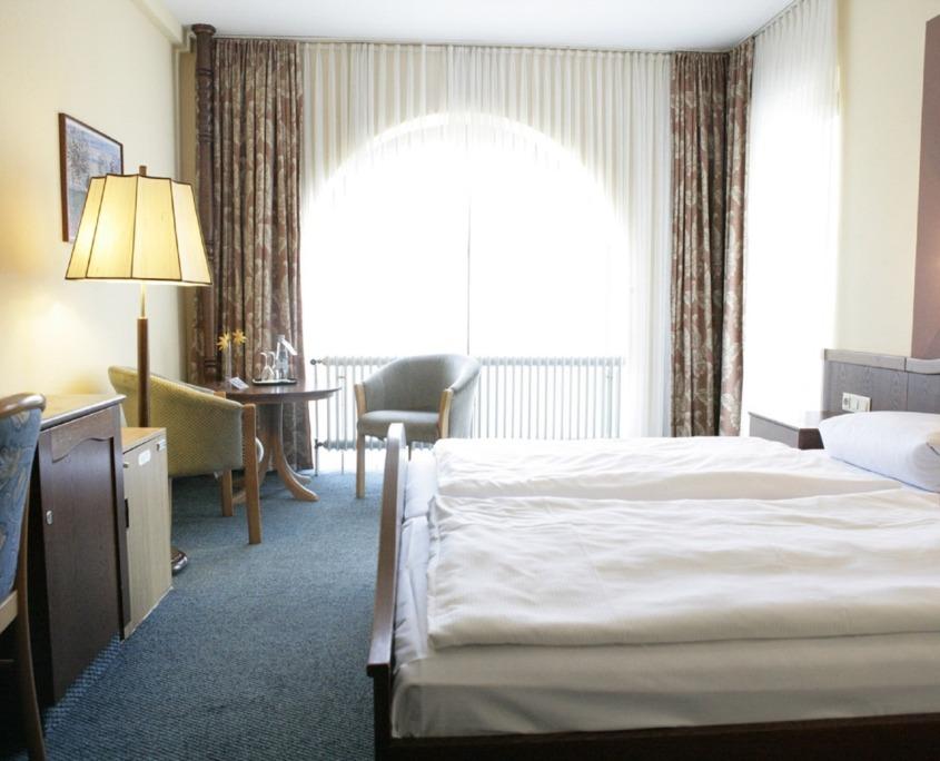 Doppelzimmer Zimmer Reichel's Parkhotel Reichels Bad Windsheim