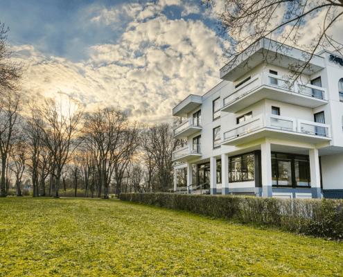 Außenansicht Reichel's Parkhotel Reichels Bad Windsheim
