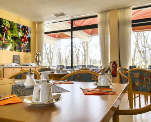 Frühstücksraum Reichel's Parkhotel Reichels Bad Windsheim