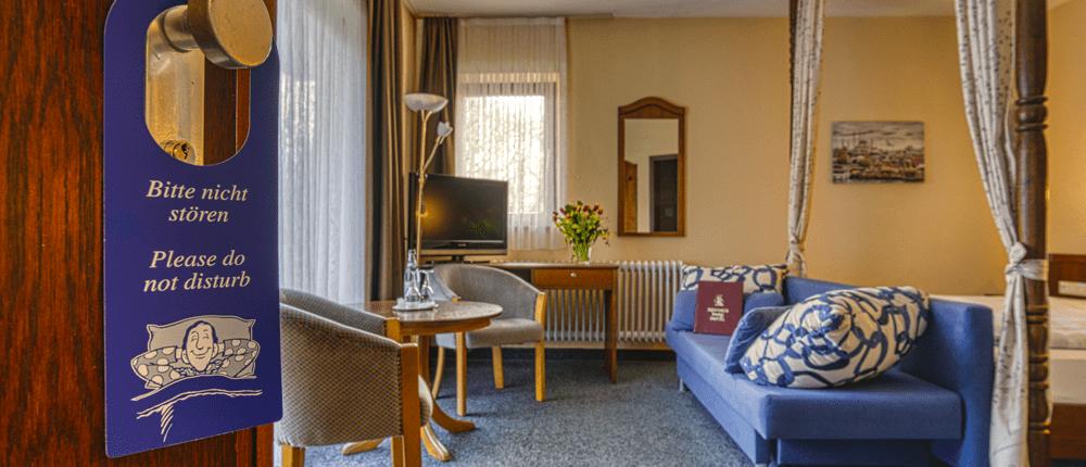 Doppelzimmer Deluxe Reichel's Parkhotel Reichels Bad Windsheim