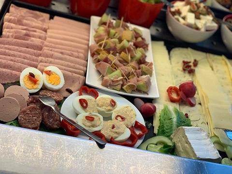 Frühstück Reichel's Parkhotel Reichels Bad Windsheim